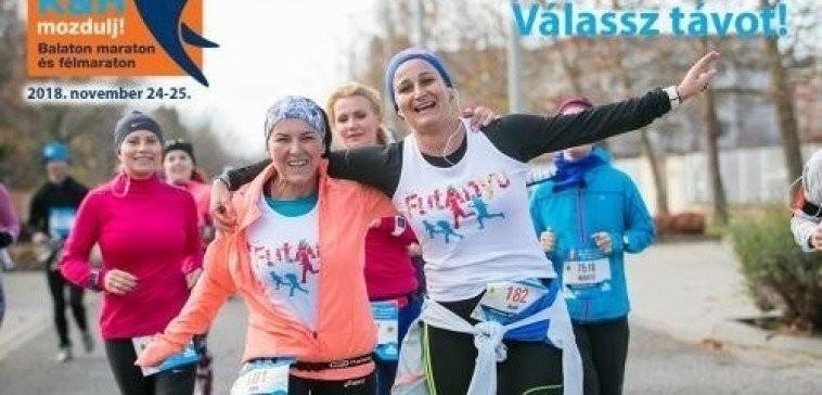 Hamarosan rajtol a 15. K&H mozdulj! Balaton maraton és félmaraton