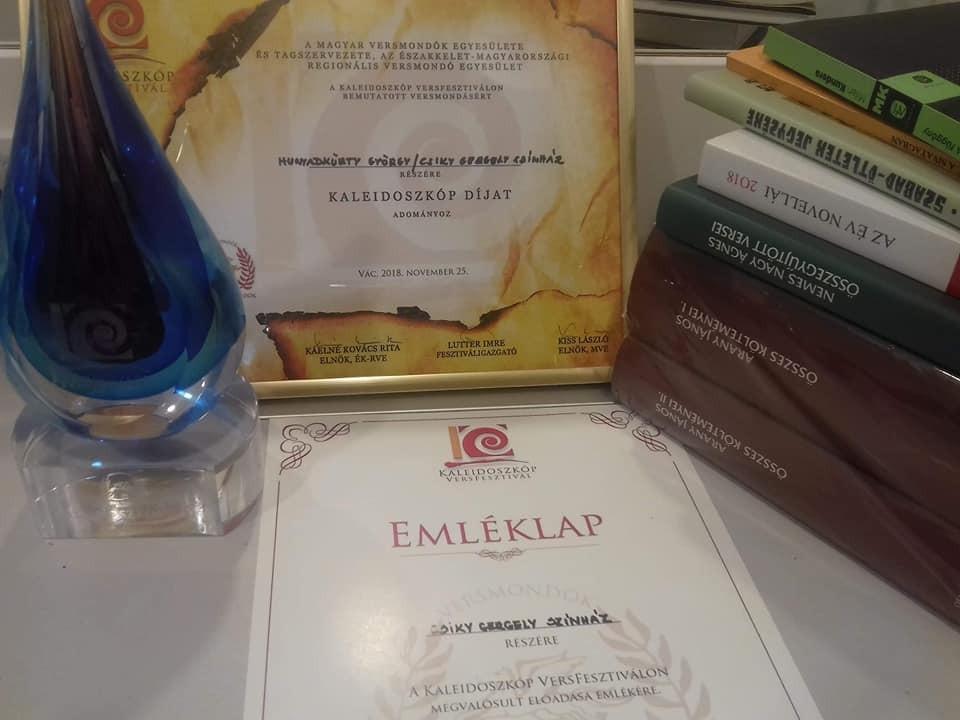Kaleidoszkóp-díjat nyert a Csiky Gergely Színház