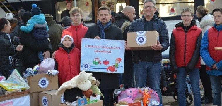 A BAHART adománygyűjtéssel csatlakozott a Mikulásgyárhoz