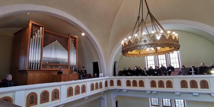 Orgonát szentelnek a kaposvári evangélikus templomban