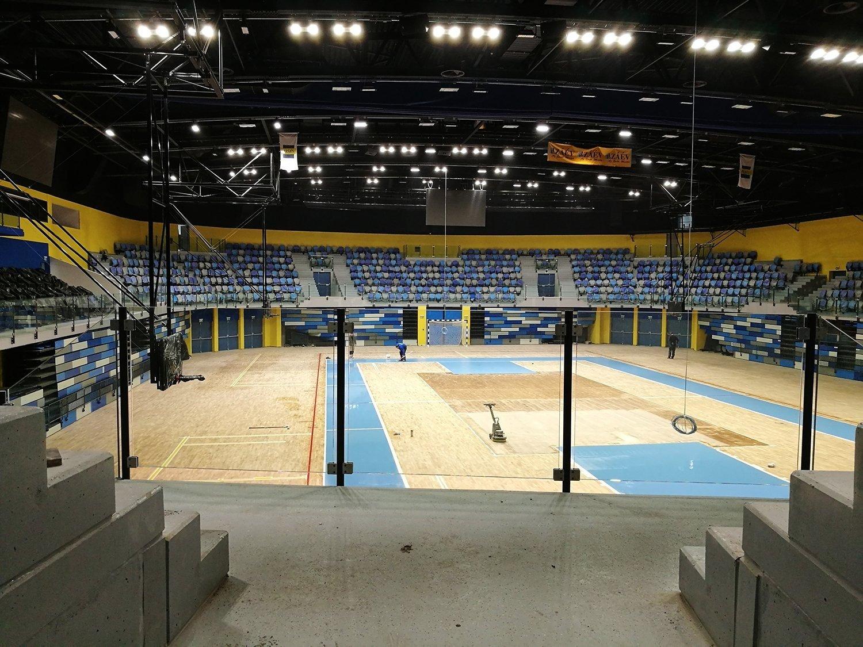 Már 80 százalékos készültségen áll Kaposvár új arénája!
