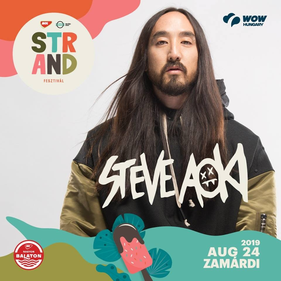 Strand Fesztivál - Steve Aoki, a Modestep és az Offenbach is jön Zamárdiba