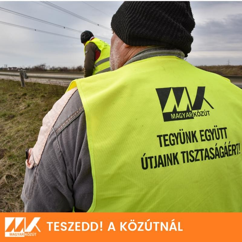 A Magyar Közútnak egyre több problémát jelent az illegális szemét eltakarítása