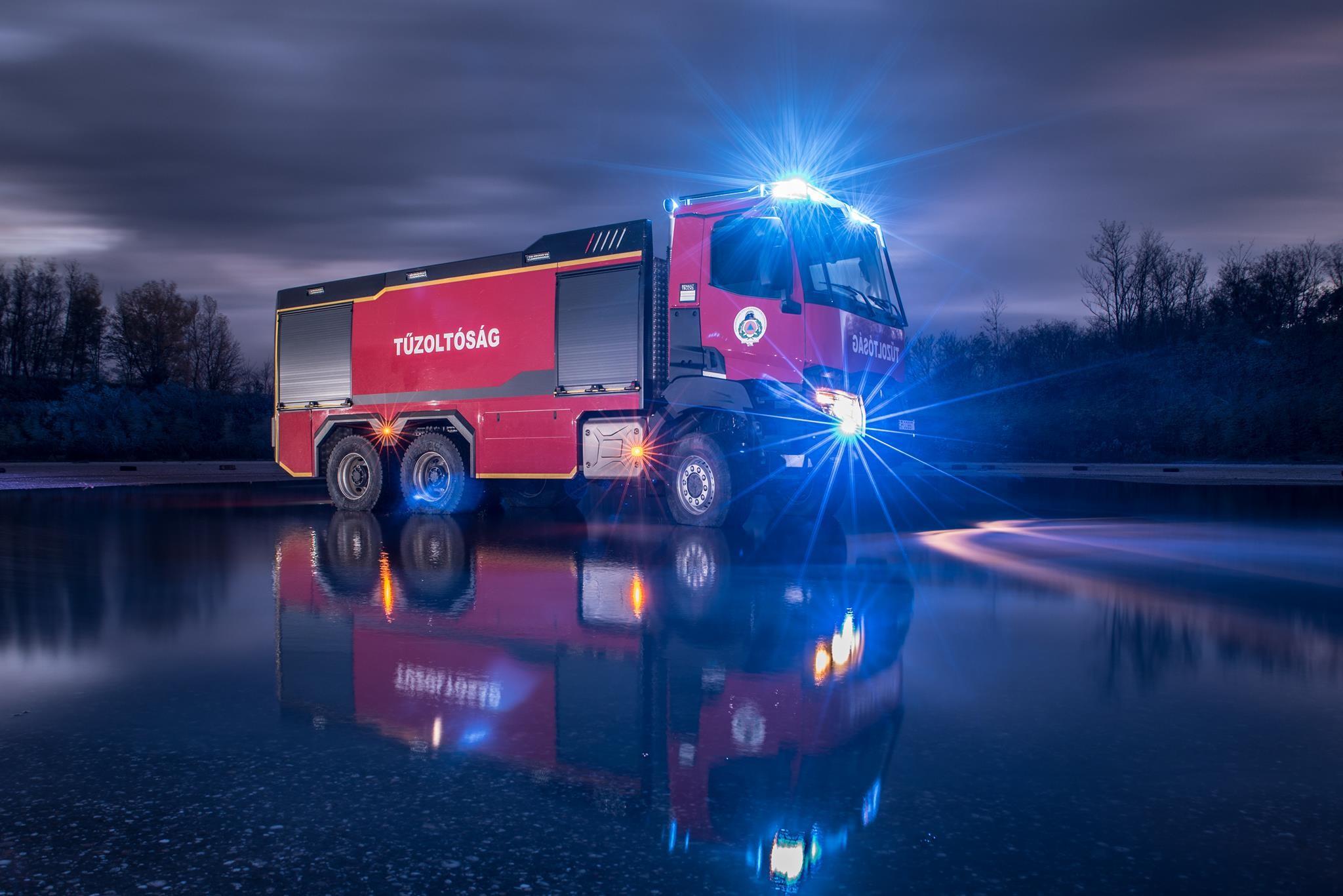 Tűzoltójárművek gyártóbázisát hozza a BM Heros Kaposvárra