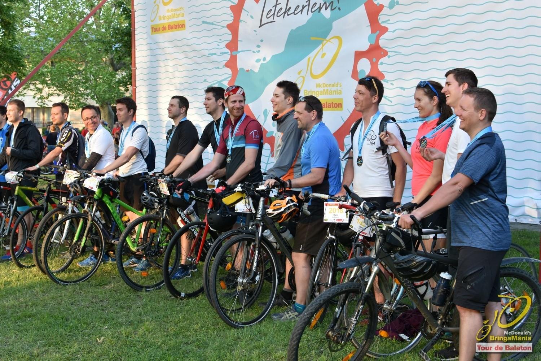 Biciklisekkel telt meg a Balaton-part a hétvégén