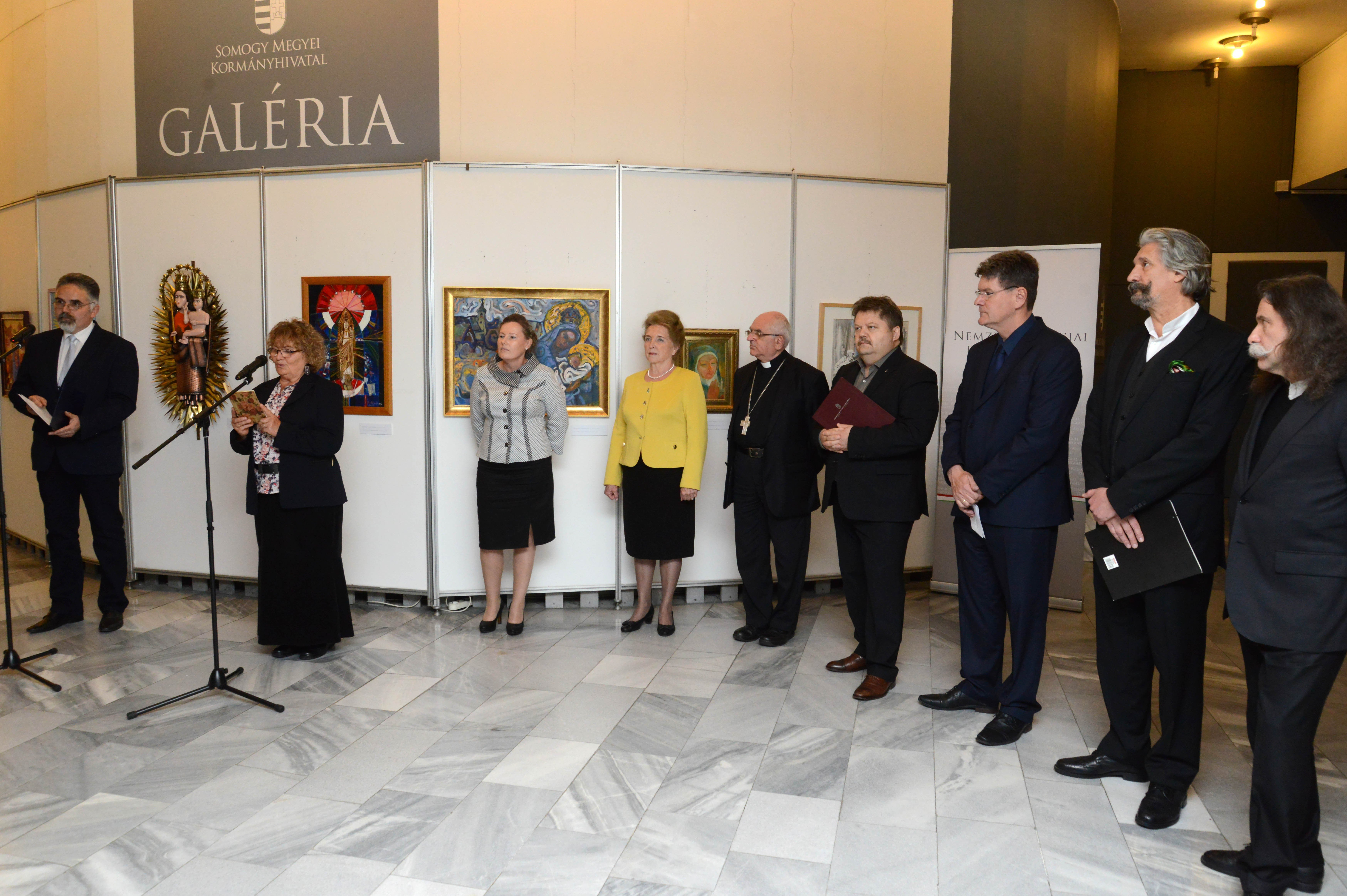 Boldogasszony-kiállítás nyílt Kaposváron