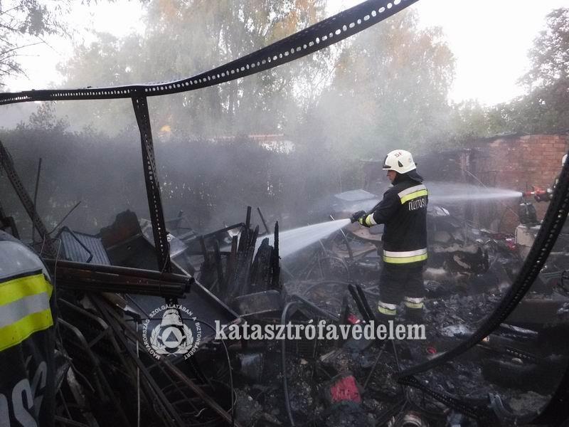 Gázpalackok robbantak fel Balatonlellén