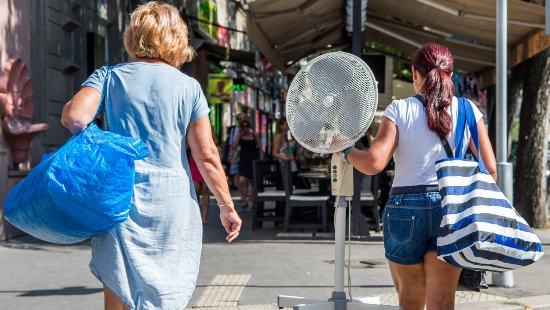 Ugrásszerűen megnőtt a kereslet a ventilátorok és klímák iránt
