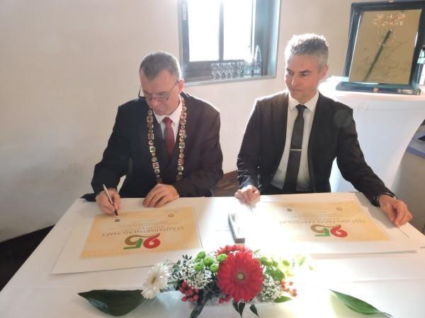 25 éve testvérváros Bátaszék és Besigheim