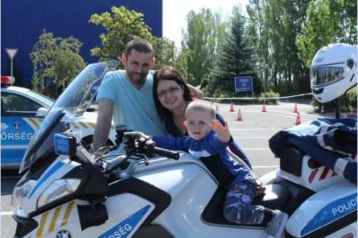 A Komlósi család nyerte a Közlekedik a család megyei döntőjét
