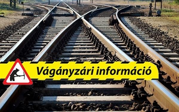 Életbe lép a vágányzár a Budapest-Pécs vasútvonalon