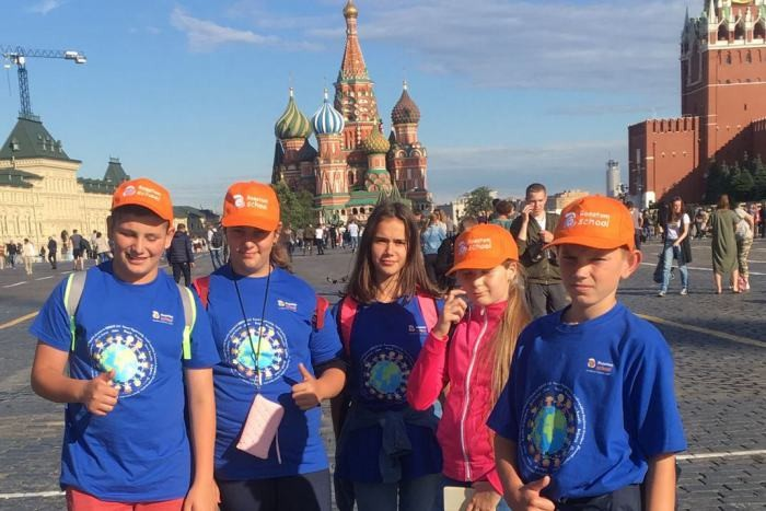 Oroszországban táboroztak a kalocsai diákok