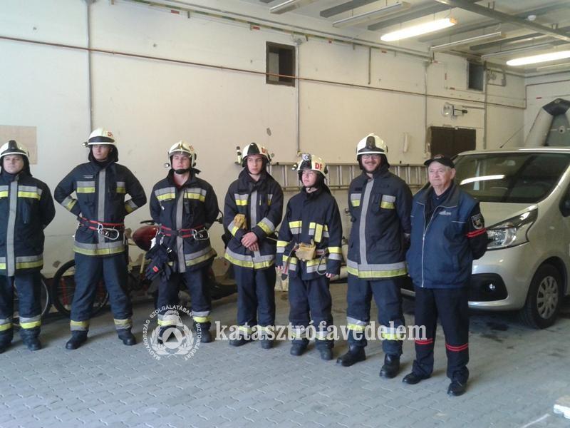 Elismerésben részesült a Dunaföldvári Önkéntes Tűzoltó Egyesület