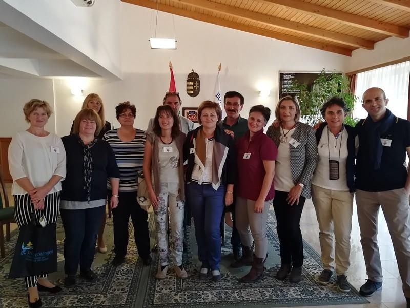 Olasz, német és török pedagógusok érkeztek Bonyhádra