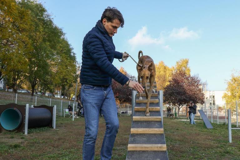 Átadták a Szekszárd új kutyafuttatóit