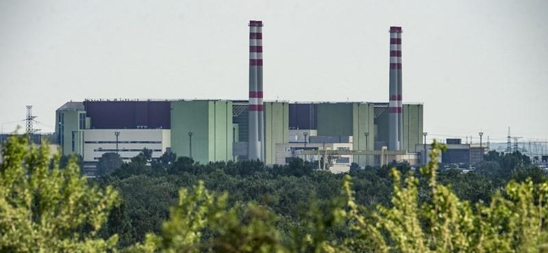 Paksi atomerőmű: nem jelent kockázatot a 4. blokk minimális süllyedése