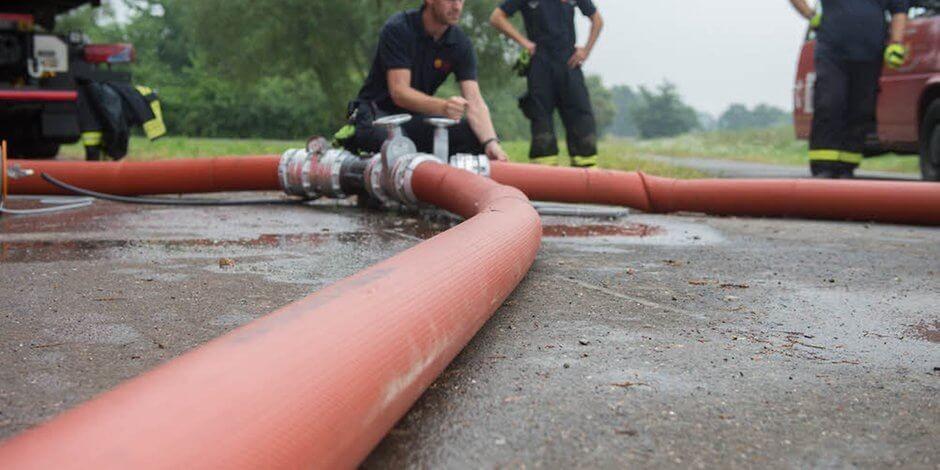 Sok gondot okoz a hóolvadás Tolna megye tűzoltóinak