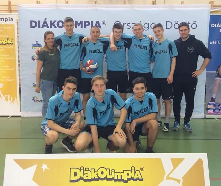 Remekül szerepeltek a Keri röplabda csapatai a Diákolimpia Országos Döntőjében