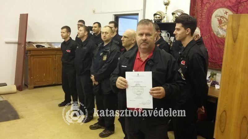 Továbbra is önálló beavatkozásra jogosult a Dunaföldvári Önkéntes Tűzoltó Egyesület