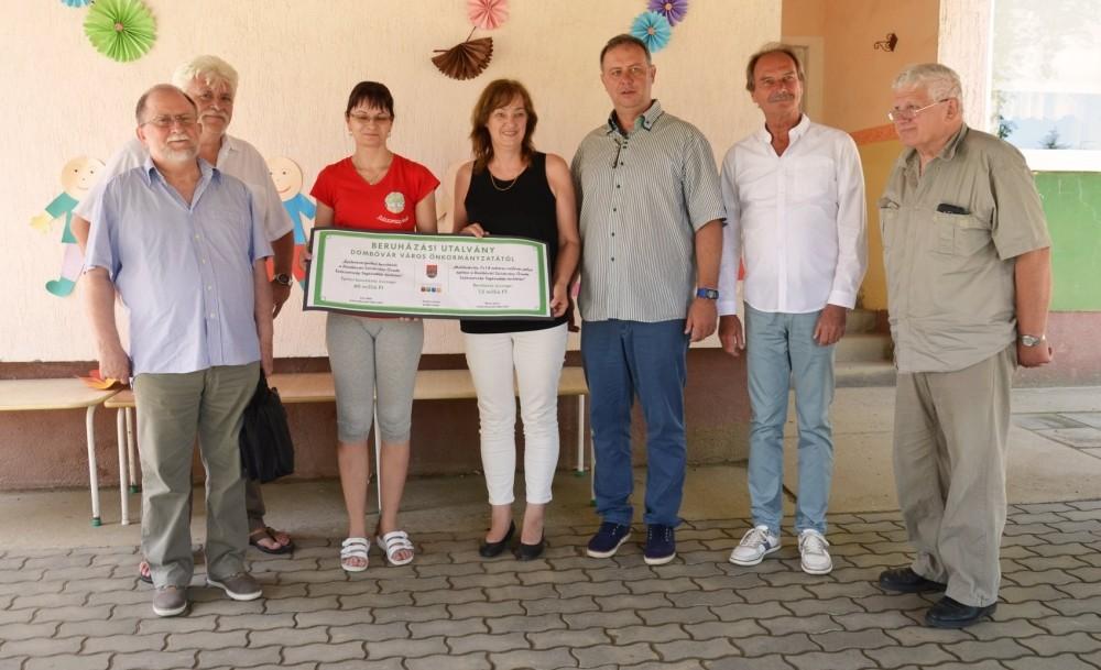 60 millió forintból újul meg a dombóvári Százszorszép Óvoda