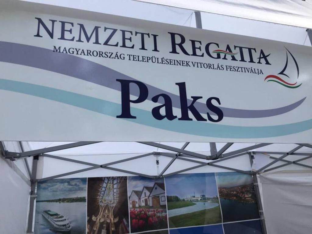 Paks is részt vett a Nemzeti Regattán