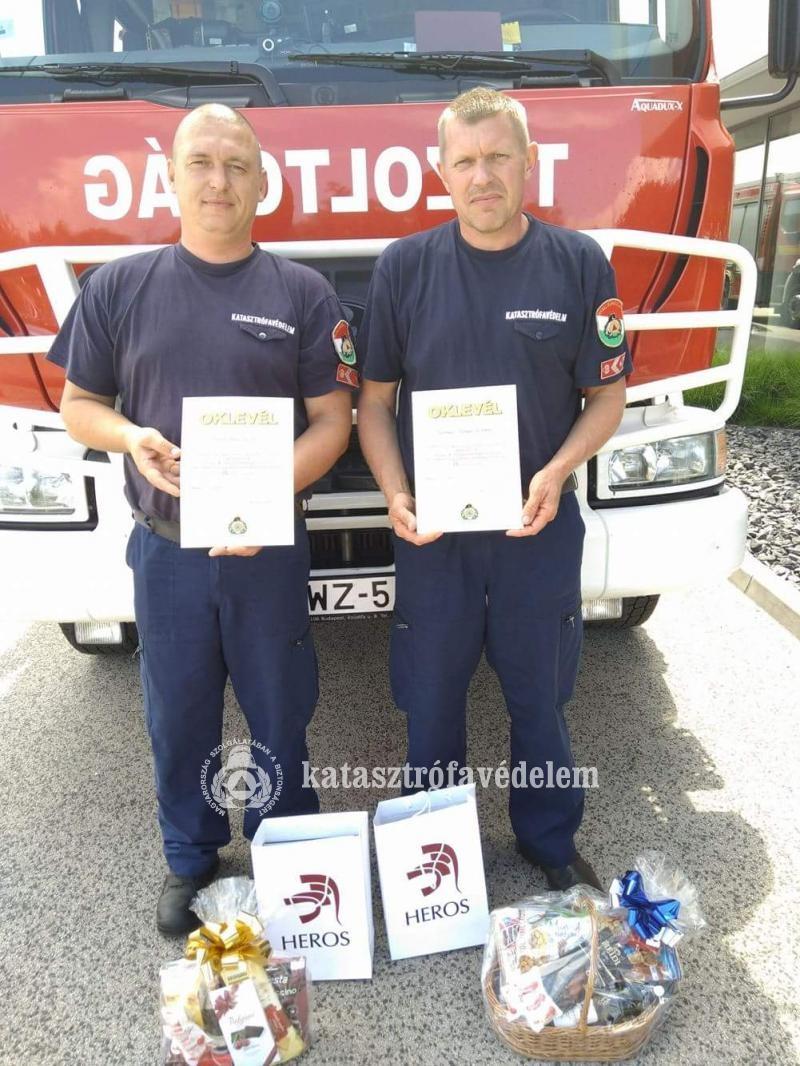 Negyedikek lettek a dombóvári tűzoltók az országos közlekedésbiztonsági versenyen