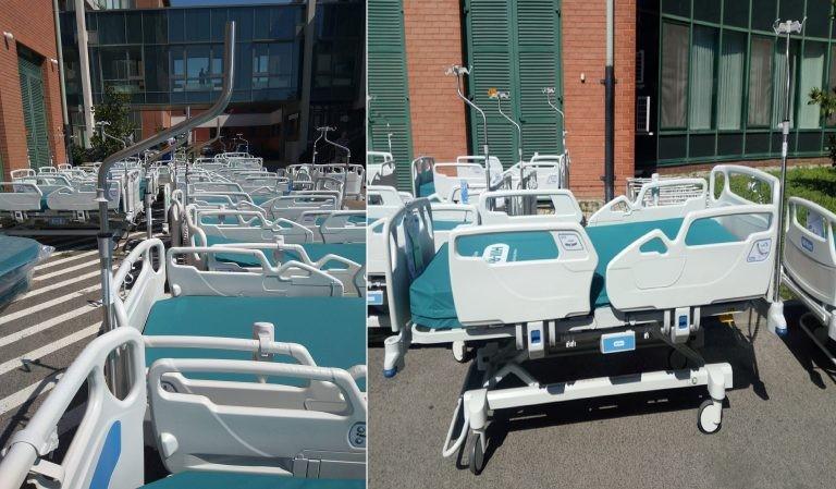 Csúcsminőségű új ágyakat kapott a Tolna Megyei Balassa János Kórház