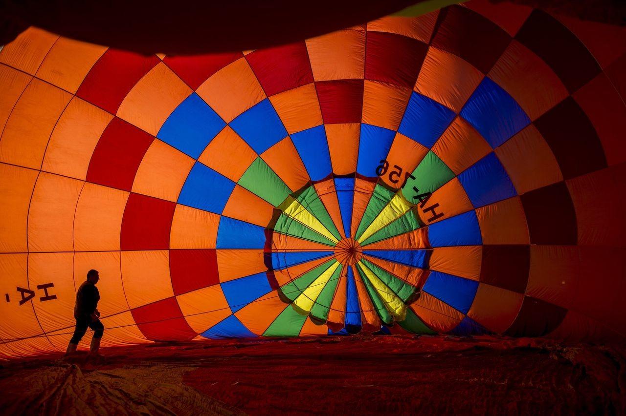 Hőlégballon-találkozó az őcsényi repülőtéren