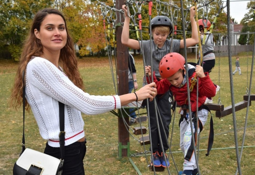 Mobil kalandparkot próbáltak ki a dombóvári óvodások és diákok