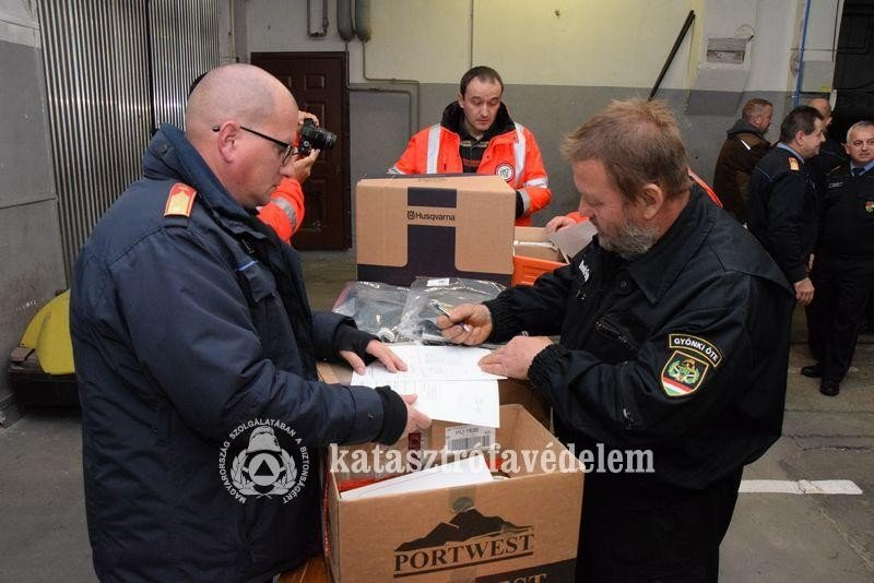 Jelentős támogatáshoz jutottak idén az önkéntes egyesületek és önkormányzati tűzoltóságok