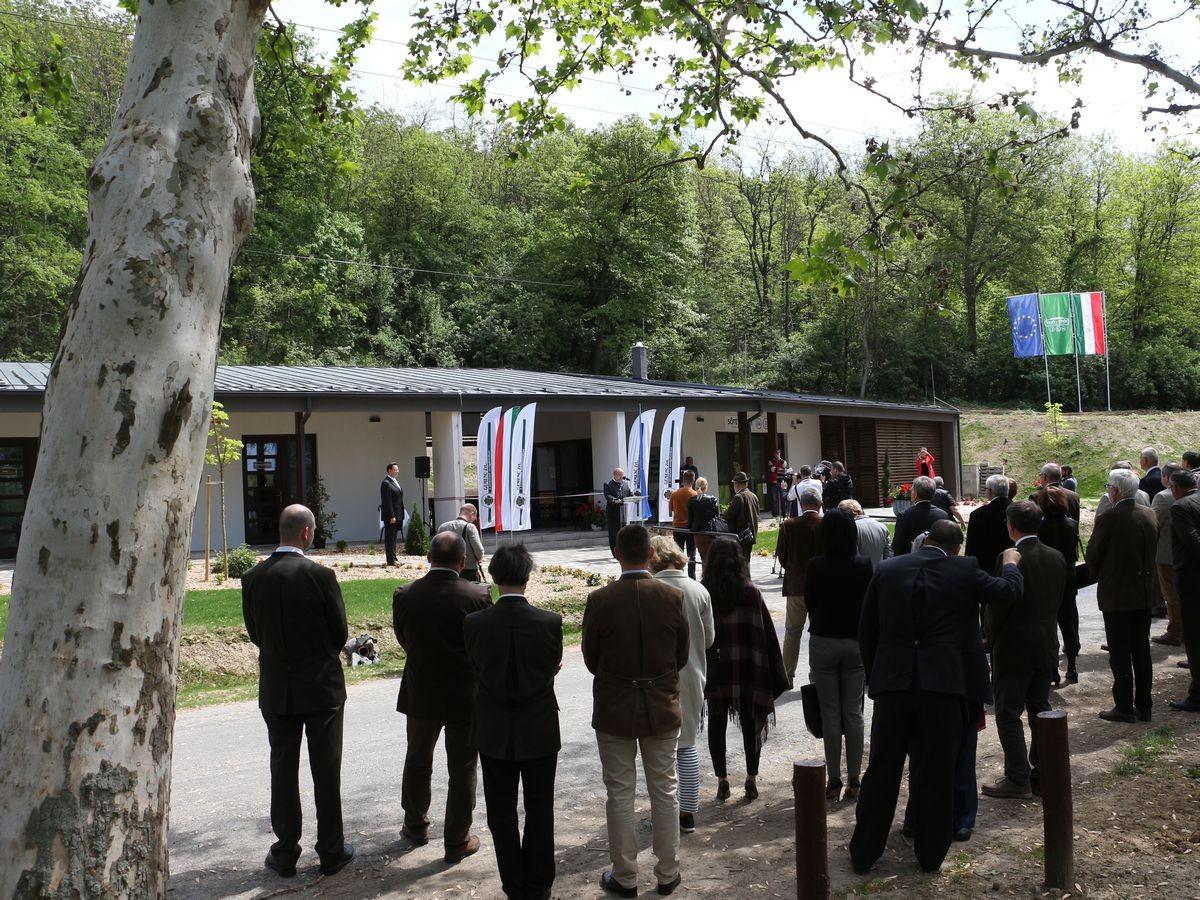 Szabadidőközpontot alakított ki a Gemenc Zrt. Szekszárd mellett