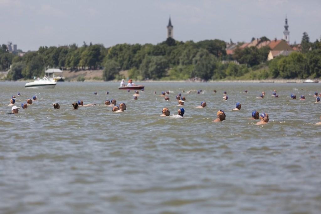 Megrendezik hétvégén a Duna-átúszást Pakson